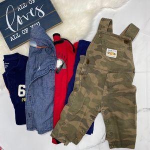 🎉Bundle baby boy overalls bottoms bodysuit B1-16